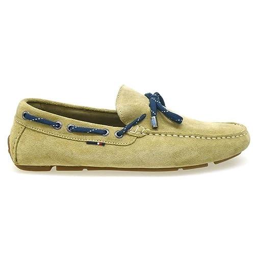 Tommy Hilfiger Mocasines Hombre Monte 068 Arena: Amazon.es: Zapatos y complementos