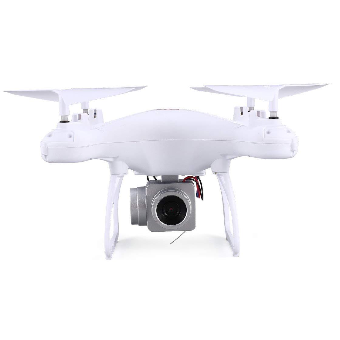Laurelmartina XG183 2.4G RC Selfie Drone FPV Quadcopter con cámara de 0.3MP Altitud en Tiempo Real Sostener LED Flash Palabra Props Programable