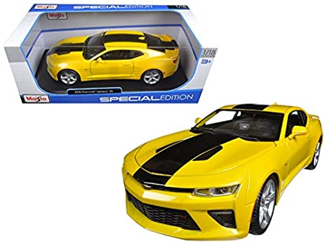 Maisto 2016 Chevrolet Camaro Ss Yellow 1 18 Model Car