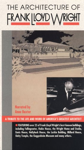 Architecture of Frank Lloyd Wright [VHS]