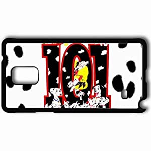 Personalized Samsung Note 4 Cell phone Case/Cover Skin 101 dalmations movies Black