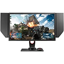 BenQ ZOWIE 27 inch 144Hz eSports Gaming Monitor, DyAc, 1440p, 1ms Response Time, Black eQualizer, Color Vibrance, S-Switch, Shield, Height Adjustable (XL2735)