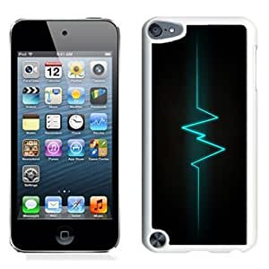 NEW Unique Custom Designed iPod Touch 5 Phone Case With Lifeline Signal Vertical Lockscreen_White Phone Case