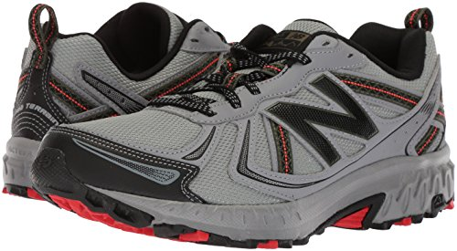 New Balance Men's MT410v5 Cushioning Trail Running Shoe, Steel, 8 D US by New Balance (Image #5)