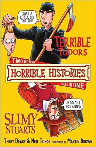 book cover of The Terrible Tudors