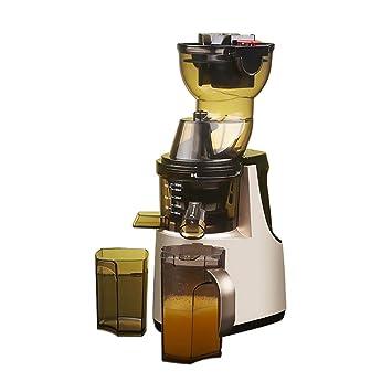 Lndixy Exprimidor casero de Gran diámetro Máquina mezcladora de zumos Juicer multifunción de Velocidad Lenta, exprimidor en frío CREA jugos de Frutas y ...