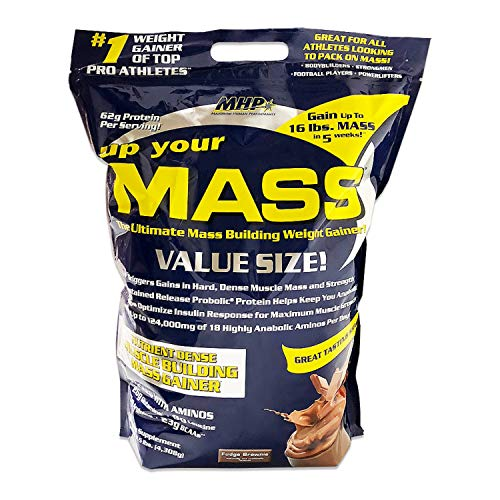 - Up Your Mass By MHP, Fudge Brownie 10lb