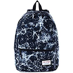 HotStyle TrendyMax Electric Pattern Kids School Backpack Fits 15-inch Laptop, Black