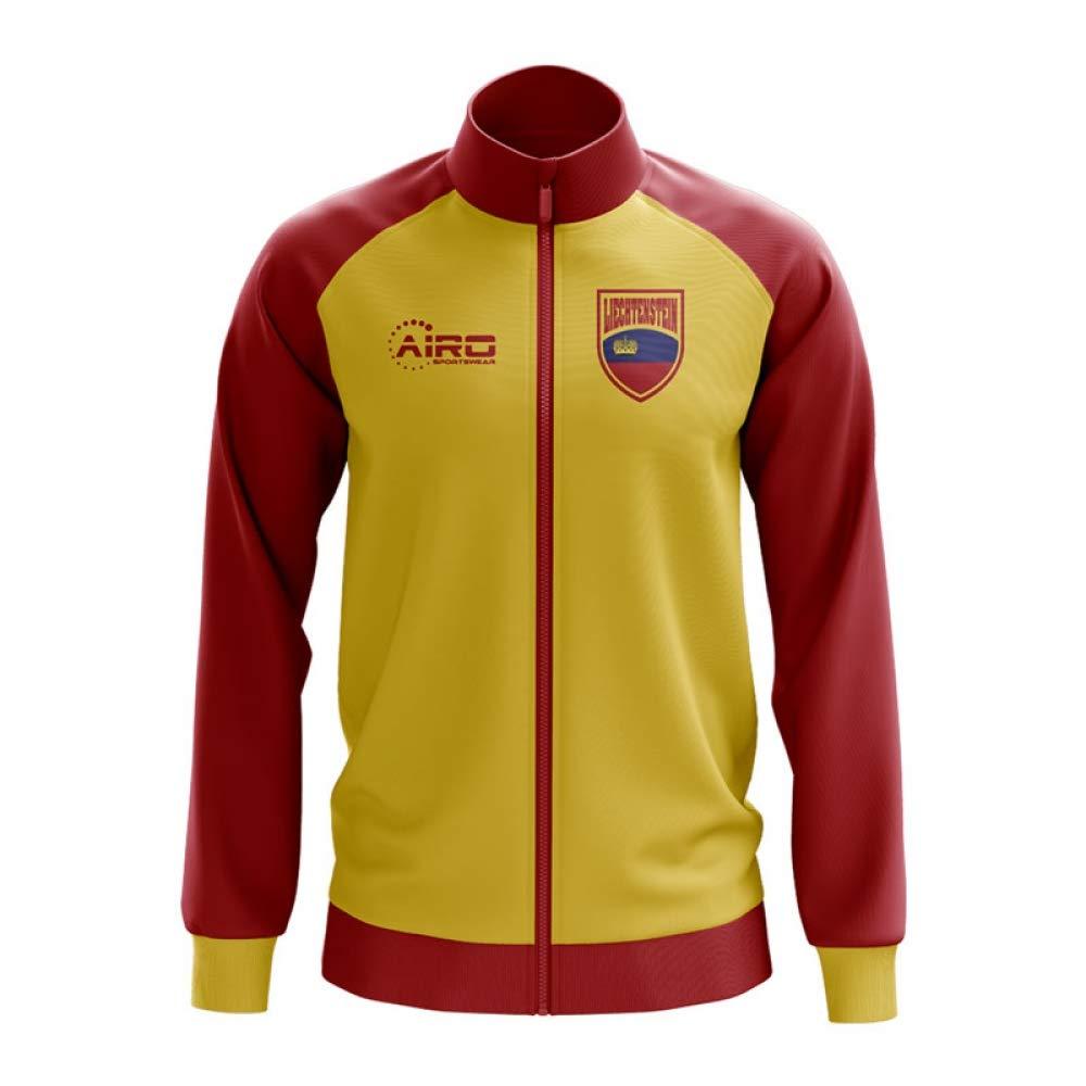 Airo Sportswear Liechtenstein Concept Football Track Jacket (Yellow)