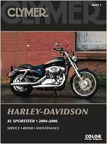 Harley davidson xl sportster 2004 2006 clymer motorcycle repair harley davidson xl sportster 2004 2006 clymer motorcycle repair michael morlan 9780892879892 amazon books fandeluxe Images
