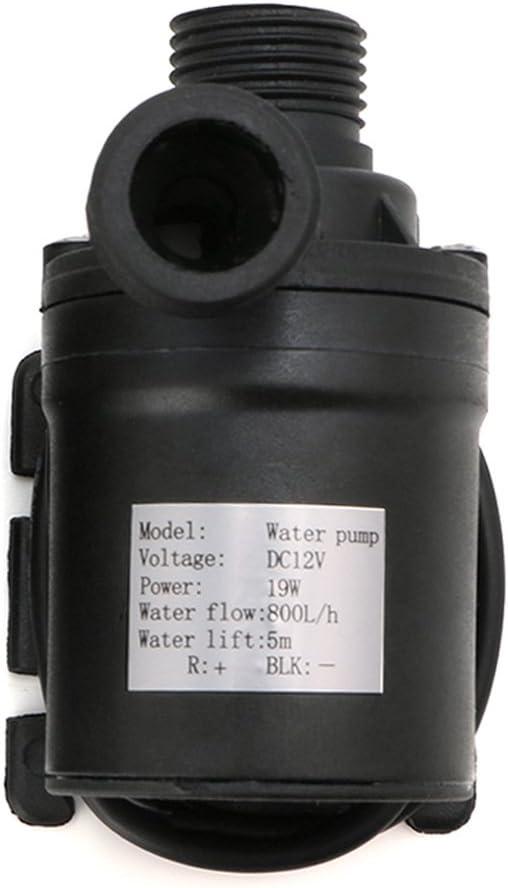siwetg 800L / H 5m DC 12V 24V Calentador De Agua Solar Motor Sin Escobillas Circulación Bomba De Agua