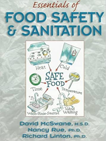 essentials of food safety and sanitation book card package david