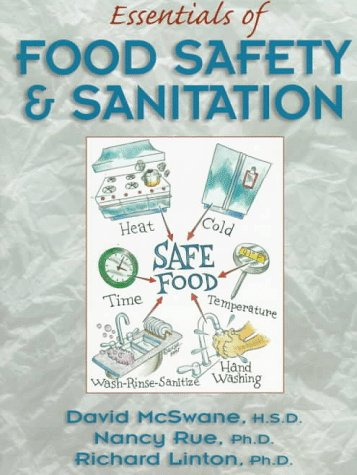 Essentials of Food Safety and Sanitation (Book/Card Package)