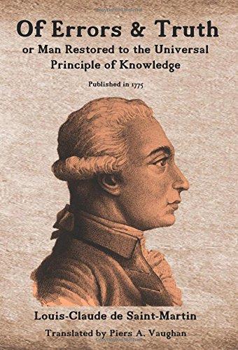 F.r.e.e Of Errors & Truth: Man Restored to the Universal Principle of Knowledge T.X.T