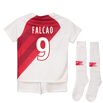 3388b0208a2 Image Unavailable. Image not available for. Color: 2018-19 Monaco Home  Football ...
