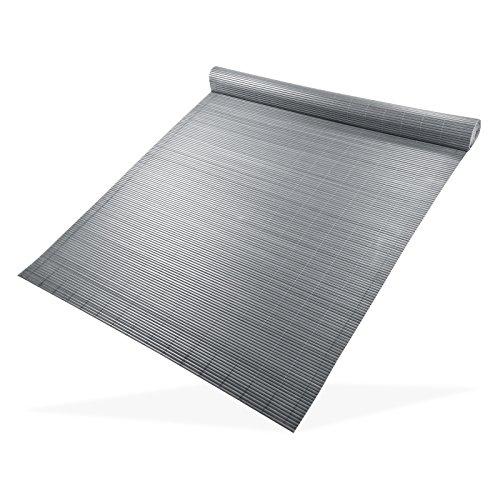 Sichtschutzmatte 120x500 grau