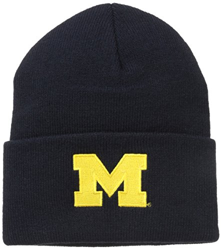 NCAA Michigan Wolverines Acrylic Watch Hat, Navy, One Size