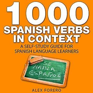 1000 Spanish Verbs in Context Audiobook