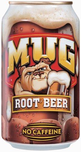 (Mug Root Beer, 12 fl oz, 4 pack)