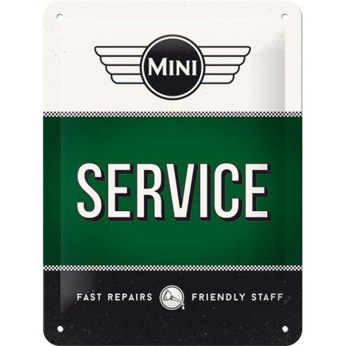 Mini Nostalgic-Art 27015 Logo Green Plaque en m/étal 15 x 20 cm