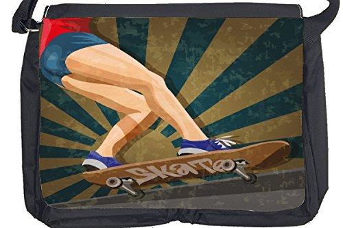 Borsa Tracolla Divertimento Skateboard Stampato