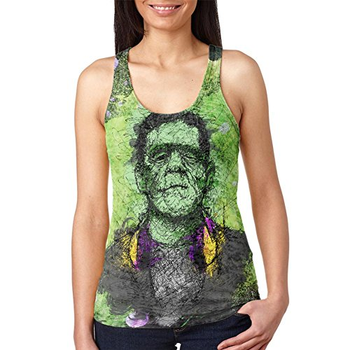 Old Glory Halloween Frankenstein Raver Horror Movie Juniors
