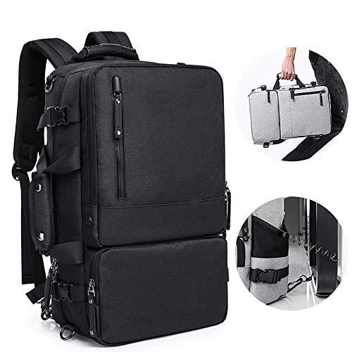 3 in 1 Outdoor Bag High Capacity 15.6 inch Laptop Anti Theft Backpack Men Business Luggage Shoulder Bags Waterproof Travel Backpacks Schoolbag (Best Kaka Shoulder Bags)