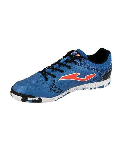4eaeb9e87a4 Amazon.com  Joma Indoor LIGA Soccer Shoes 5 LIGAW 805 Royal Calcetto ...