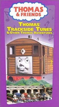 Amazoncom Thomas The Tank Engine Thomas Trackside Tunes Vhs