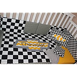 Boy's Crib Bedding Set, Chevrolet 6 Piece