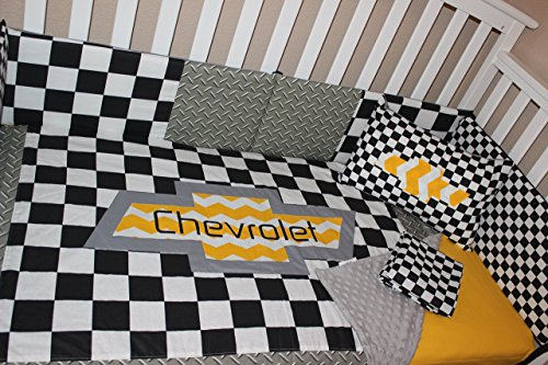 Crib Bedding Set, Chevrolet 6 Piece