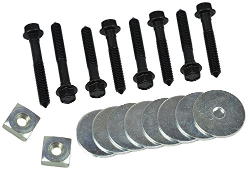 Inline Tube (C-9-4) Body Mount Hardware Kit Compatible with 1968-72 Chevrolet Chevelle, El Camino and Monte Carlo Hard Top or -