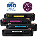 High Yield CRG-045H Toner Set Replacement for Canon 045 045H Toner Cartridge fits for Canon Color imageCLASS MF634Cdw MF632Cdw LBP612Cdw LBP613Cdw LBP611Cn Printer by UniVirgin ( 4PK/BCMY)