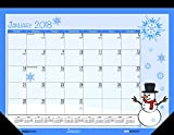 House of Doolittle 2018 Monthly Desk Pad Calendar, Seasonal, 22 x 17 inches, January - December (HOD139-18)