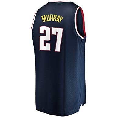 newest 3dc7b f869b Amazon.com: Jamal Murray Blue Jersey: Clothing