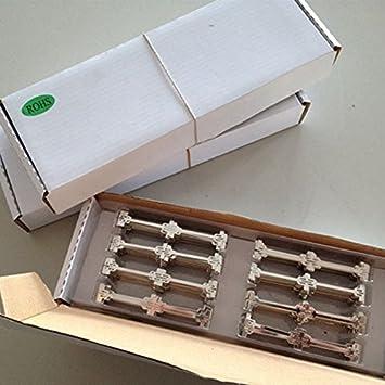 Dogbone alambre Tabbing embarrado cobre soldadura Cable de soldadura soldador para SunPower Solar Cell: Amazon.es: Jardín