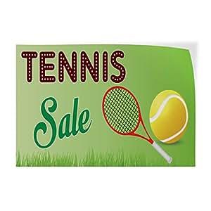 Tennis Racquet Sale >> Amazon Com Decal Sticker Multiple Sizes Tennis Sale 1 Sports