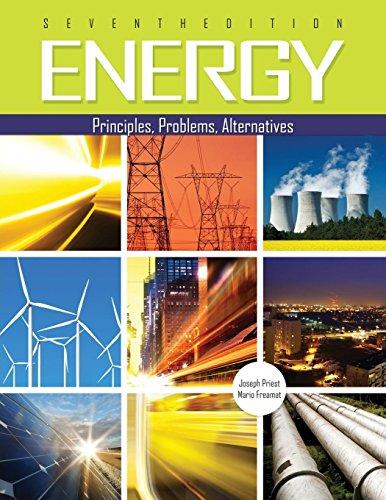 Energy: Principles, Problems, Alternatives