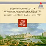 Telemann: Nouveaux Quatuors En Six Suites - The Paris Quartets