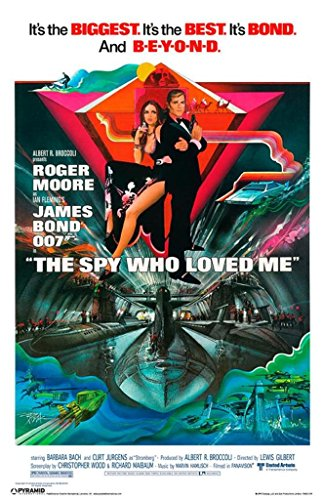James Bond The Spy Who Loved Poster 12x18 inch