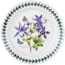 Portmeirion Exotic Botanic Garden Bread and Butter Plate with Dragonfly Motif, Set of 6