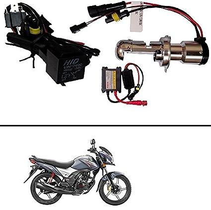 AutoStark Premium Quality HID Xenon kit Bike-Motorcycle-Headlight White on