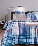 Caleffi Quilt, Winter Duvet Curtain. 300 g/m2. Microfibre. Double bed Bluette
