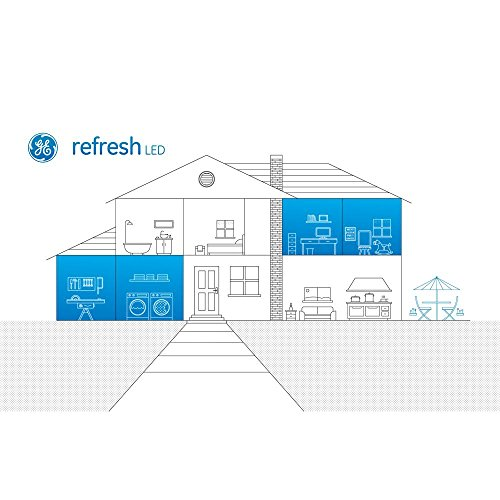 low-cost GE Refresh 40w Equivalent Daylight (5000k