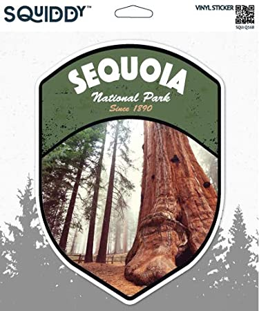 Amazon.com: Adhesivo de vinilo para parque nacional, diseño ...
