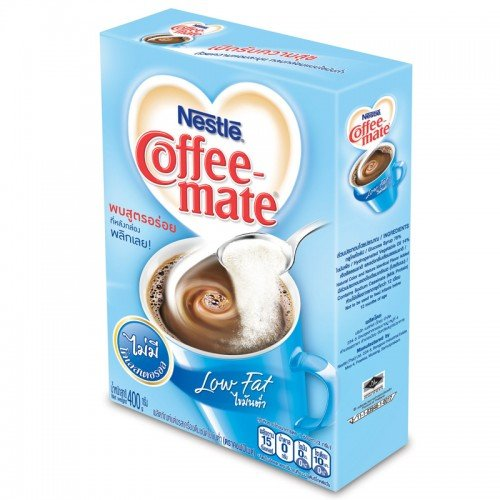 Nestle Coffee-Mate Coffee Creamer Low Fat Light blue Color 400 g. (Keurig Gingerbread Coffee compare prices)