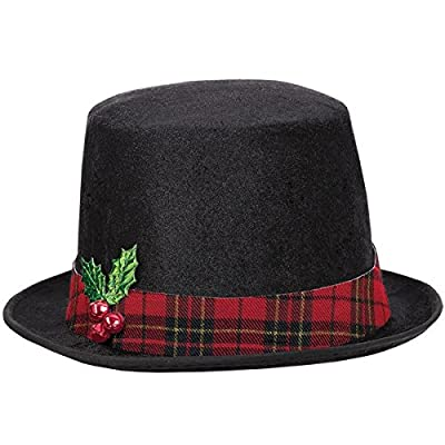 amscan Snowman Top Hat   Christmas Accessory: Toys & Games