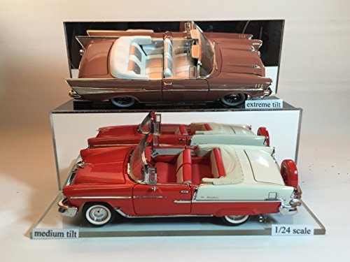 Scale Single Car Display Case (1:24 Scale Single Car / Truck Display - Set of 2)