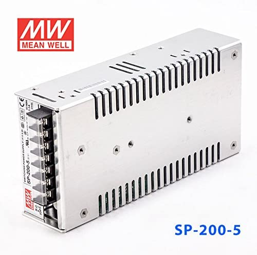 200W 5V 40A Meanwell SP-200-5 Power Supply PFC