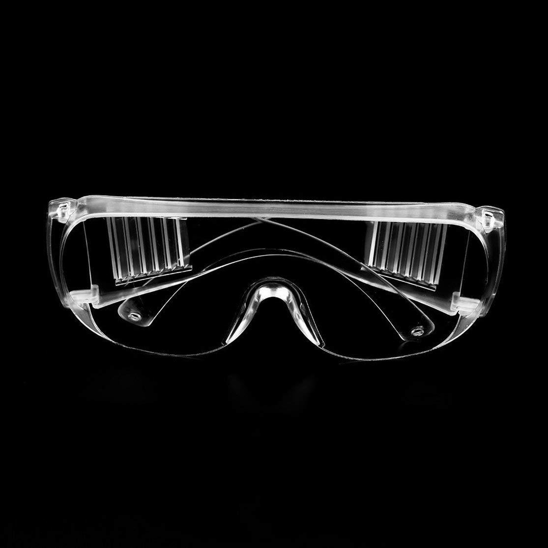 Color:Clear Gafas de Seguridad claras Lugar de Trabajo Ropa Protectora para los Ojos Mano de Obra Trabajar Gafas Protectoras Polvo del Viento Antivaho Uso m/édico Gafas